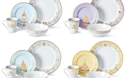 Elevate Your Home Dining Experience with Elegant Disney Princess Dinnerware from Toynk Toys