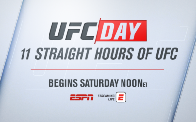 """ESPN to Air """"UFC Day"""" Featuring 11 Hours of Classic UFC Fights"""