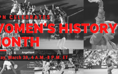 ESPN to Commemorate Women's History Month with Full Day of Programming