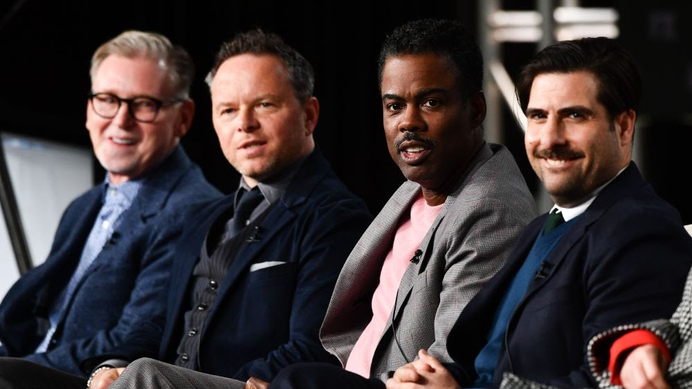Warren Littlefield, Noah Hawley, Chris Rock and Jason Schwartzman via Variety