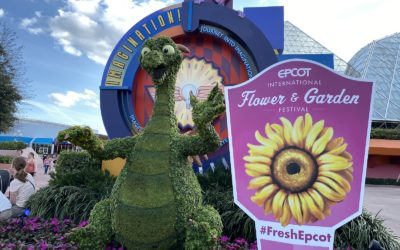 2020 EPCOT International Flower & Garden Festival Topiary Tour