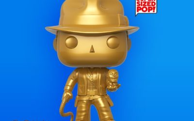 Funko Releases Exclusive Limited Edition Gold 10-inch Indiana Jones Pop! Figure