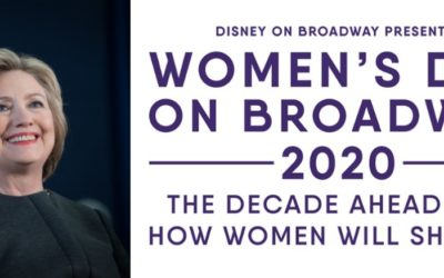 Secretary Hillary Clinton to Deliver Closing Keynote Address at 2020 Women's Day on Broadway