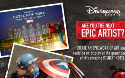 Disneyland Paris Hosting Fan Art Contest to Celebrate Re-Opening of Hotel New York – The Art of Marvel