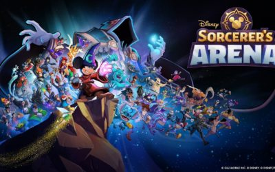 "Legends Collide as Glu Launches ""Disney Sorcerer's Arena"""