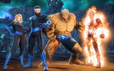"""Marvel Ultimate Alliance 3"" Expansion ""Shadow of Doom"" Featuring Fantastic Four Now Available"
