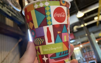 Mary Blair Inspired Designs Appear on Drinking Cups at Walt Disney World