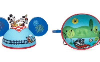 Mickey & Minnie's Runaway Railway Ear Hat by Kevin Rafferty Joins the Disney Parks Designer Collection