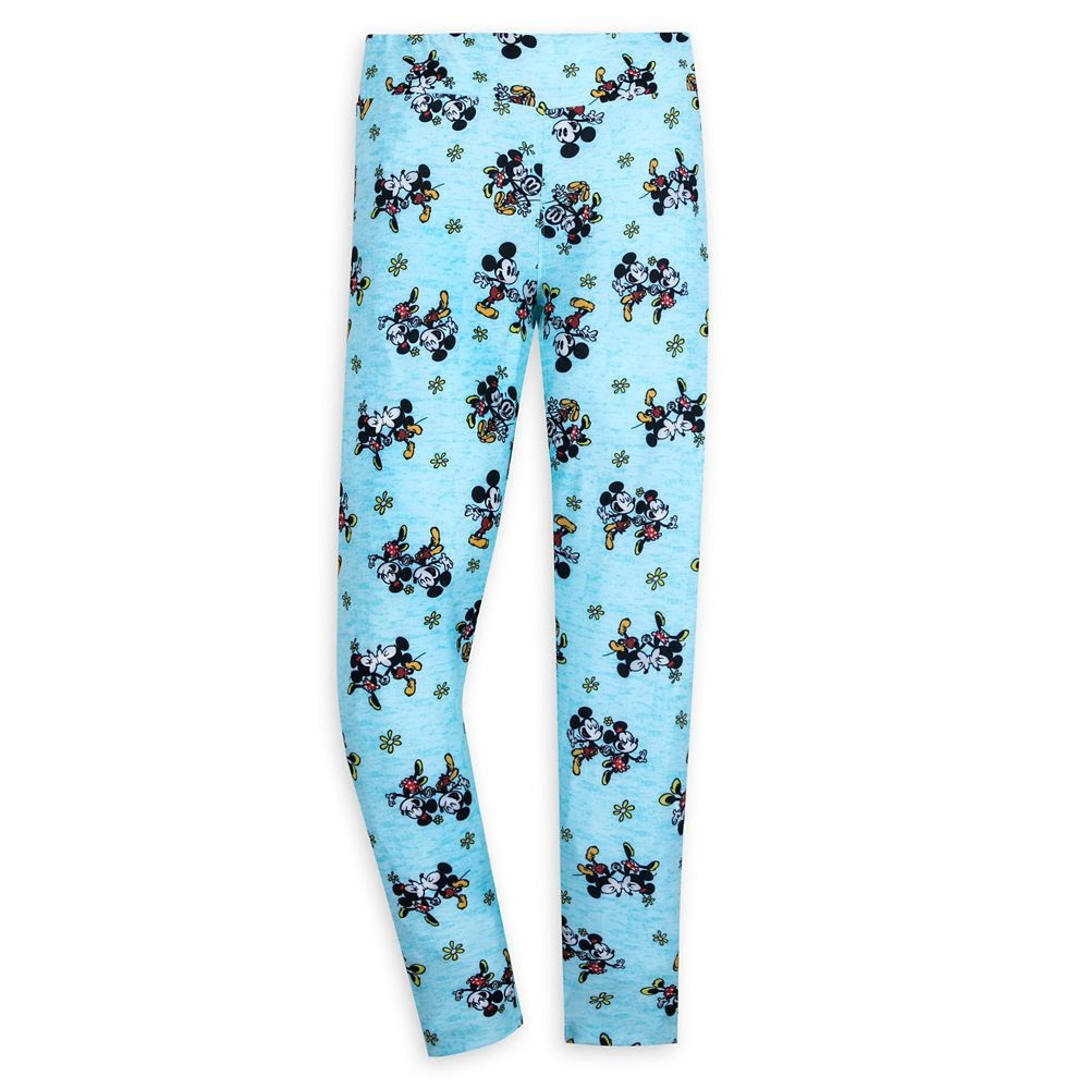 Mickey and Minnie Mouse Runaway Railway Leggings for Women