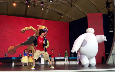 Moment of Disney Bliss: Baymax Super Exercise Expo at Shanghai Disneyland