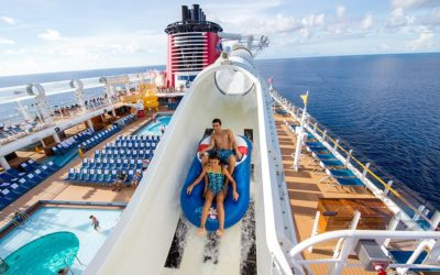 Moment of Disney Bliss: Disney Cruise Line AquaDuck