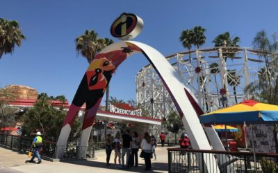 Moment of Disney Bliss: The Incredicoaster at Disney California Adventure