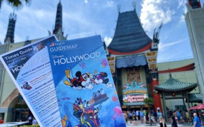 New Guidemap Featuring Mickey & Minnie's Runaway Railway Debuts at Disney's Hollywood Studios Today