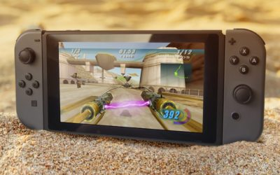 """Now This Is Podracing! """"Star Wars Episode I: Racer"""" Video Game Coming to Nintendo Switch and PS4"""