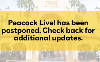 Universal Studios Hollywood Postpones Inaugural Peacock Live! Event