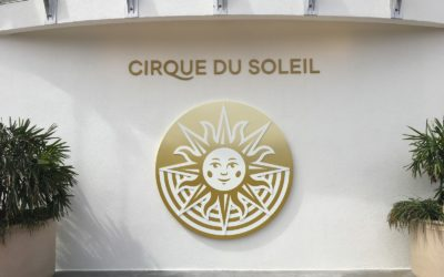 "Photos - New Cirque du Soleil and ""Drawn to Life"" Signs at Disney Springs Ahead of New Show's Debut"