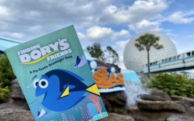 "Photos - Take a Look at the New ""Finding Dory's Friends"" Scavenger Hunt at The Seas in EPCOT"