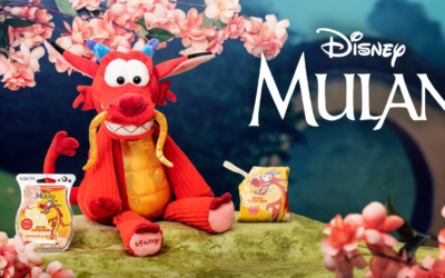 """Scentsy Releases a Mushu Collection from """"Mulan"""""""