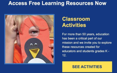 SeaWorld Orlando Provides Free Distance Learning Classroom Resources For Parents, Students, and Teachers