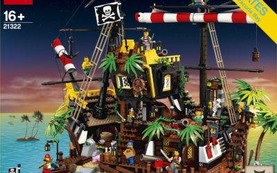 Swashbuckling New Pirates of Barracuda Bay Building Set Announced by LEGO Ideas