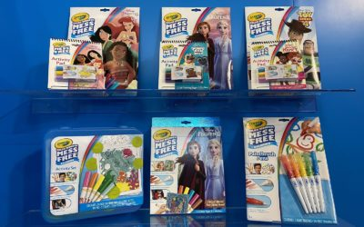 Toy Fair 2020: Crayola (Disney Art Sets, Crayola Wonder, Scribble Scrubbie, Glitter Dots, and more!)