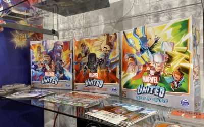 Toy Fair 2020: Spin Master (Marvel United, Titanic: The Game, Disney Pool Toys, and More!)