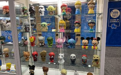 Toy Fair 2020: Monogram International (Disney Blind-Bag Figures, Banks, Keychains, Magnets, Pillows, Banks)