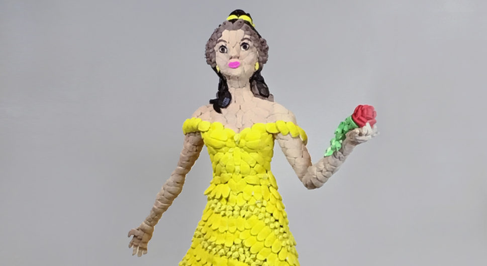 """Disney Princesses Made of Marshmallow? Belle Figure Featured in Maryland """"PEEPShow"""""""