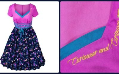 Alice in Wonderland Dress Tumbles on to shopDisney