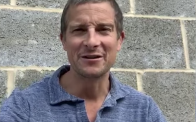 "Bear Grylls Reads a ""Robin Hood"" Story on Disney's YouTube Channel"