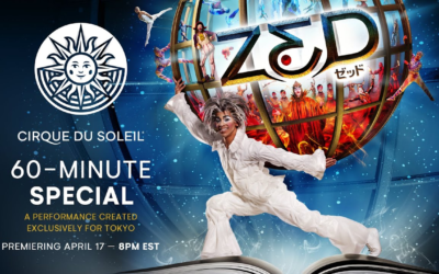 "Cirque du Soilel to Stream 60-Minutes of ""Zed"" Created Exclusively for Tokyo Disneyland"