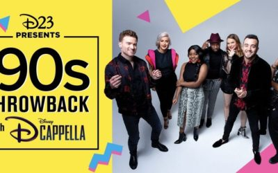 D23 to Present Virtual Event '90s Throwback with DCappella on April 17th