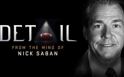 "ESPN+ Releases Two New Episodes of ""Detail"" Featuring Alabama Coach Nick Saban"