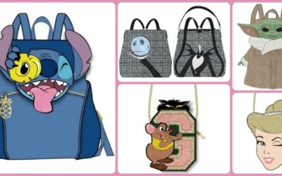 Entertainment Earth Previews New Disney Bags and Backpacks Arriving This Fall