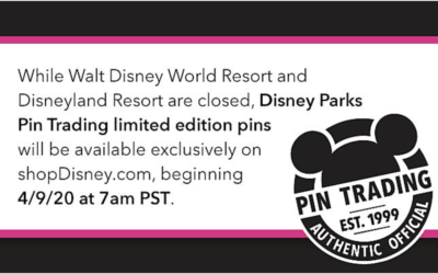Disney Parks Limited Edition Pins Coming to shopDisney April 9th