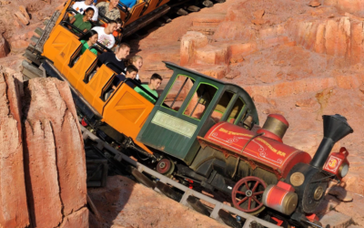 """Disney Parks Shares a """"Ride and Learn"""" Trip Aboard Big Thunder Mountain Railroad"""