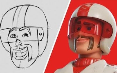 "Pixar Animator Teaches Fans How to Draw Duke Caboom from ""Toy Story 4"""