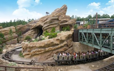 Moment of Disney Bliss: Big Grizzly Mountain Runaway Mine Cars at Hong Kong Disneyland