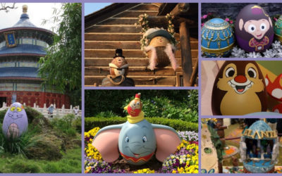 Disney Parks Easter Egg Displays from Around the World