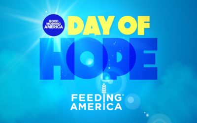 """Good Morning America,"" Feeding America Partner for Day of Hope to Help Families in Need Amid COVID-19 Pandemic"