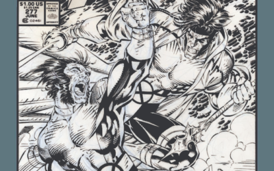 IDW Celebrates Jim Lee's X-Men Artwork Through Upcoming Artist's Edition Book
