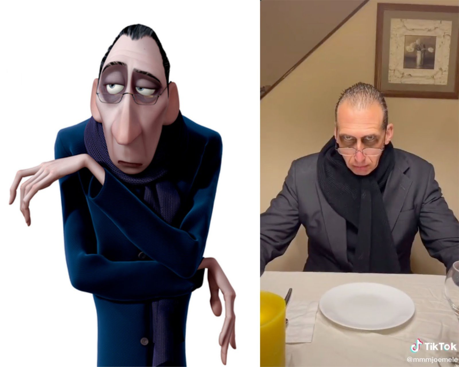 Tiktok User Transforms His Dad Into Anton Ego The Food Critic From Ratatouille Laughingplace Com