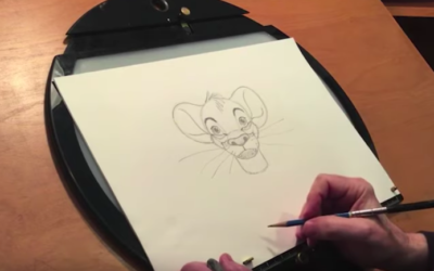 "Learn How to Draw Simba in Latest Installment of ""Draw With Disney Animation"""