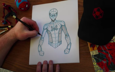 Learn How to Draw Spider-Man as He Will Appear in Avengers Campus in New Disney Parks Video