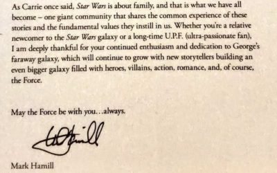 Mark Hamill Shares Special Letter to Star Wars Fans