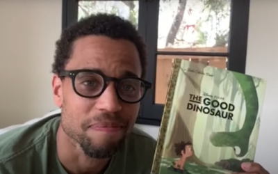 """Michael Ealy Reads """"The Good Dinosaur"""" on Disney's YouTube Channel"""