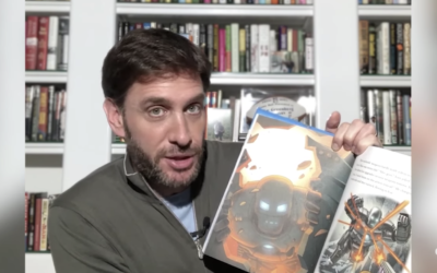 "Mike Greenberg Reads an Iron Man Story from ""5-Minute Marvel Stories on Disney's YouTube Channel"