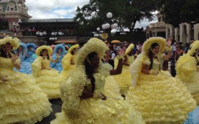 Moment of Disney Bliss: Easter Parade at the Magic Kingdom