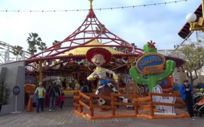 Moment of Disney Bliss: Jessie's Critter Carousel at the Disneyland Resort