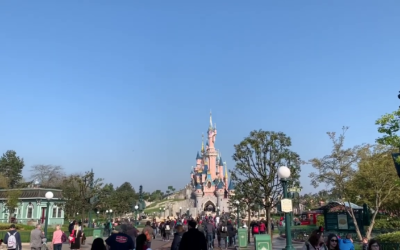 Moment of Disney Bliss: Rope Drop at Disneyland Paris